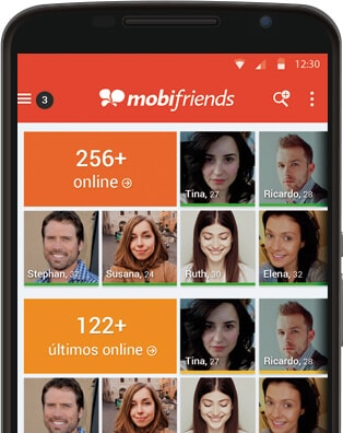 mobifriends' app